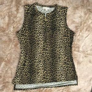 Michael Kors Cheetah print top